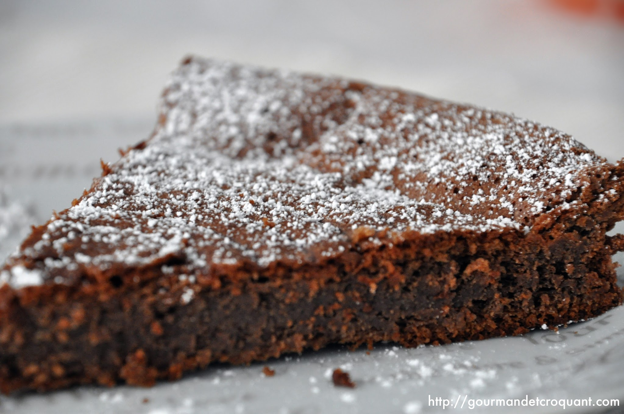 Recette gateau chocolat sans gluten et sans lactose