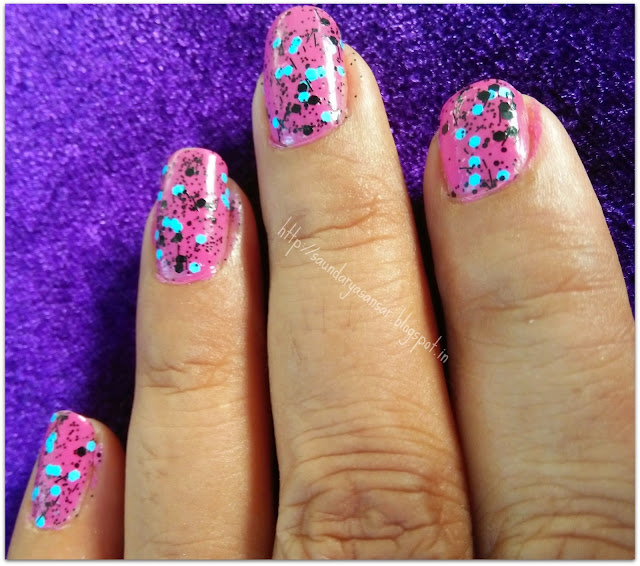 Maybelline Color Show Go Graffiti- Blue Beats: Review, Price, NOTD