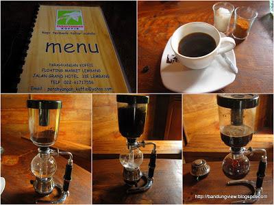 parahyangan koffie floating market lembang