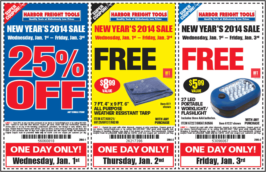 Today's Best Harbor Freight Deals