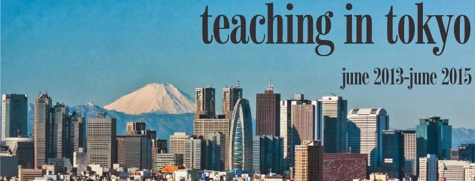 Teaching in Tokyo