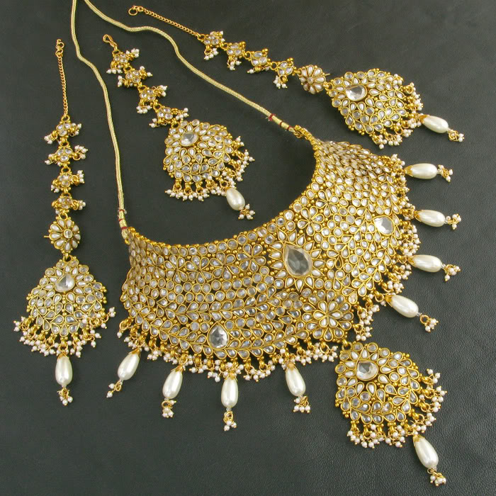 Fashion Klix Pearl Jewellery Designs
