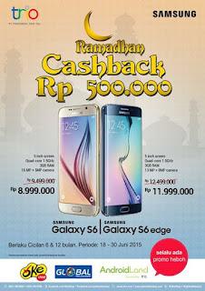 Samsung Galaxy Promo Ramadhan Cashback Rp 500.000