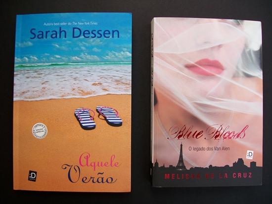 Aquele Verão (Sarah Dessen) e O legado dos Van Alen (Melissa de La Cruz)