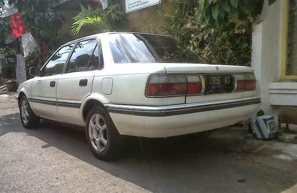 Dijual Toyota Corolla Twincam Se 1.6 Tahun 91 ~ Mobil ...