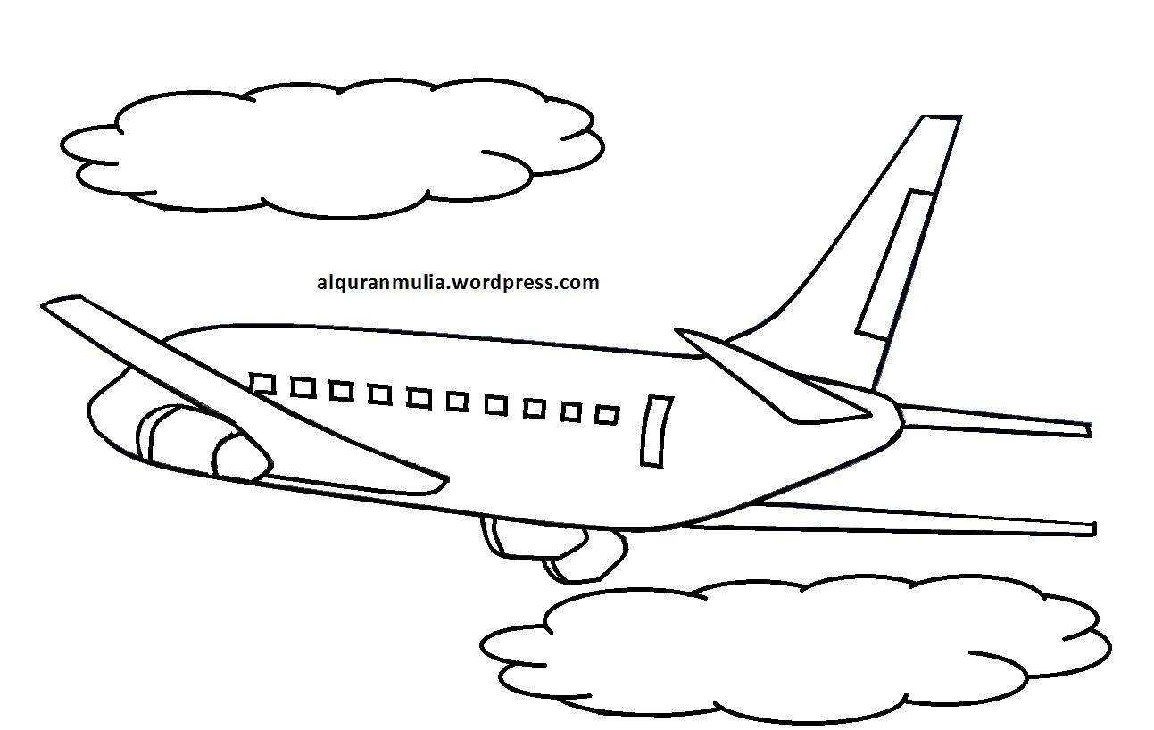 Gambar Pesawat Dalam Bentuk Kartun Bestkartun
