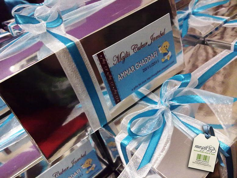 Hamper ramadhan hari raya cupcake doorgift wedding for Idea door gift cukur jambul