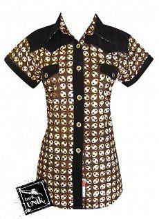 Kemeja%2BWanita%2BTerbaru%2BModern%2B2011 Model Pakaian Kemeja Wanita Terbaru 2013