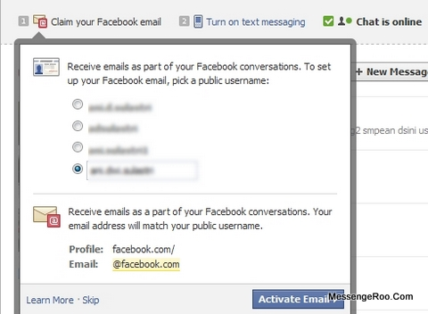 How to Claim Your Facebook Email Get Make