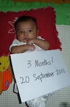 ~ 3 months ~ 6.4 kg