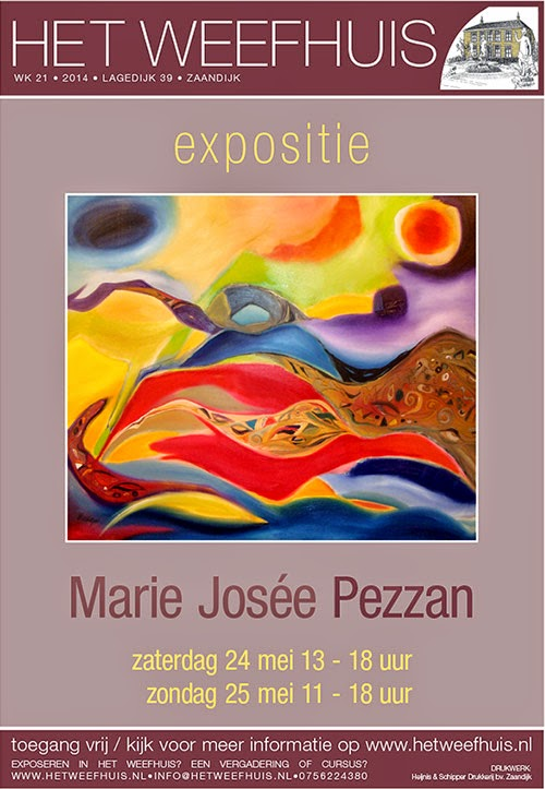expositie Marie Josée Pezzan in Het Weefhuis