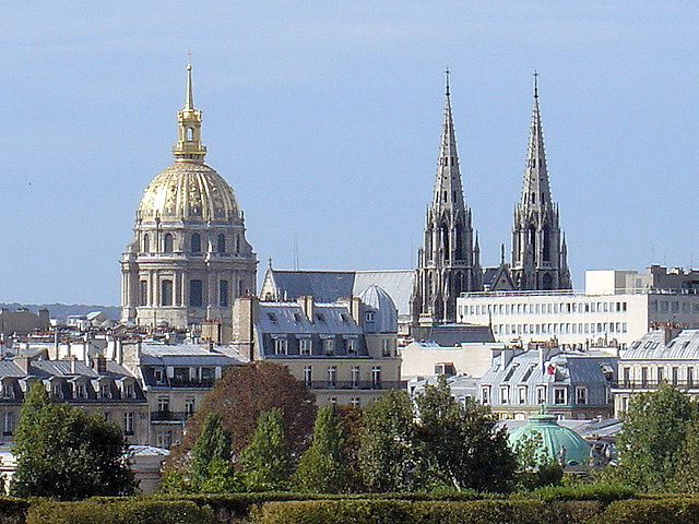 Palace Les Invalides—final resting place for Napoleon Bonaparte and family.