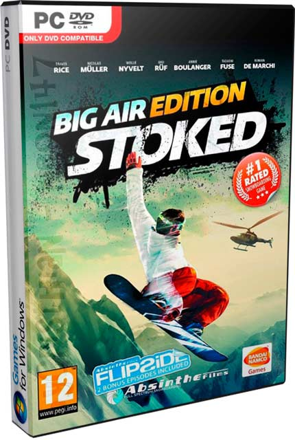 Stoked: Big Air Edition (Multilenguaje) (PC-GAME) (DVD) (2011) (Mirrors) (Muy Bueno) (resubido)