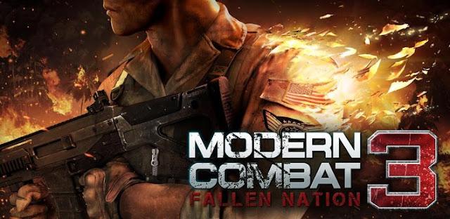 Modern Combat 3: Fallen Nation Android İndir