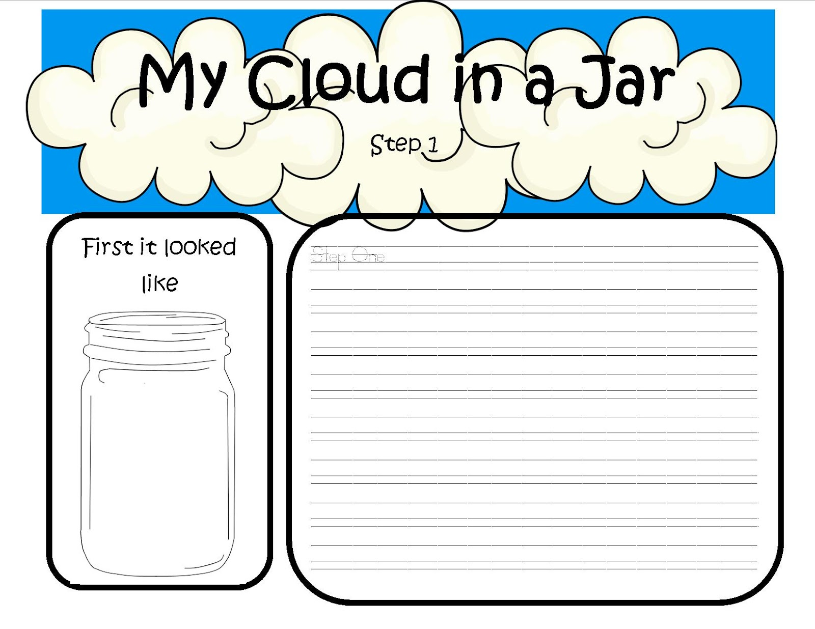 worksheet Cloud Worksheet clouds worksheet praradio cloud worksheets kindergarten in addition a contains data