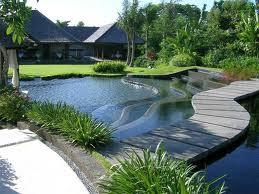 model taman rumah