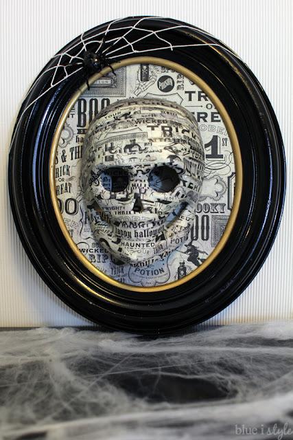Halloween Skull Art