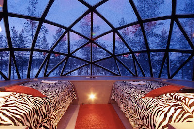 Finland , Igloo Hotel in Kakslauttanen Seen On www.coolpicturegallery.us