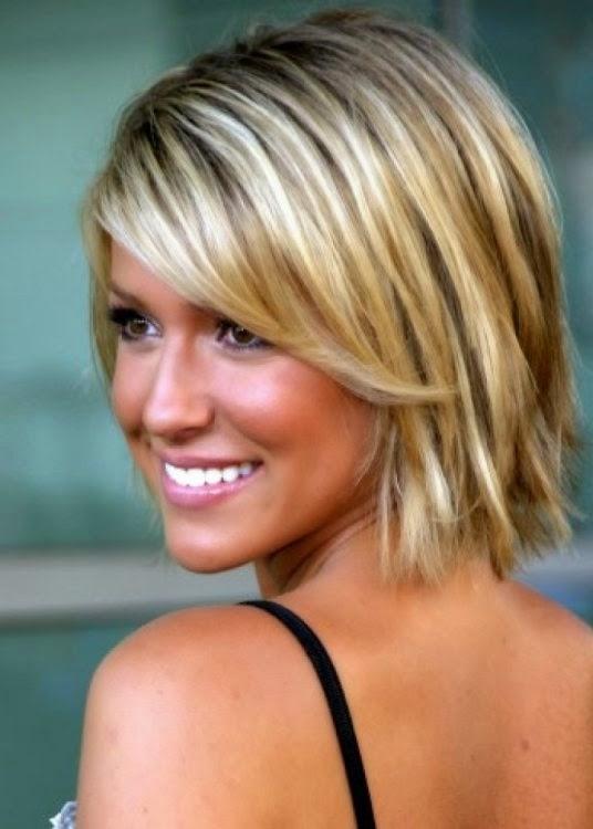 Blonde Kapsels Halflang - Kapsel voor halflang haar blond haar Kapsels voor lang