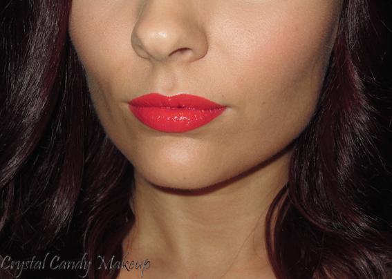 Rouge à lèvres Color Sensational 885 Vibrant Mandarin de Maybelline - Review - Swatch
