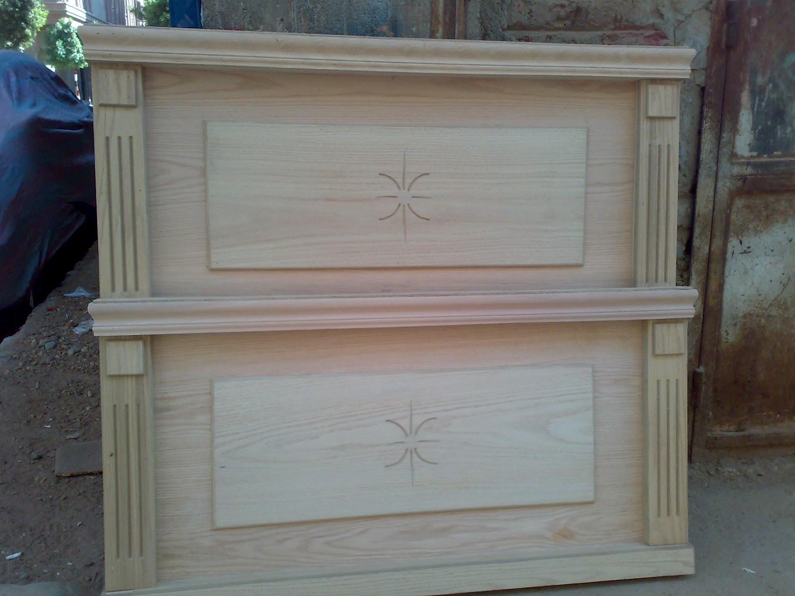 ابداعات السادات: سرير اطفال من الخشب الطبيعى الخالص