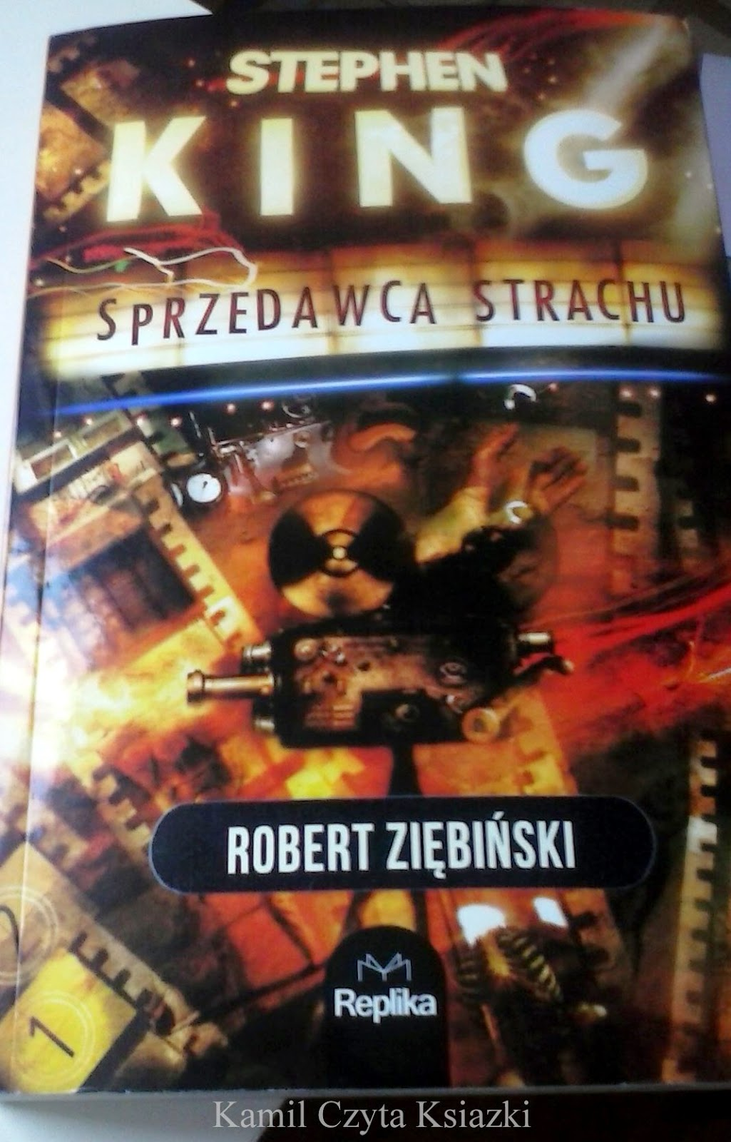 Kamil Czyta Książki Robert Ziębiński Stephen King Sprzedawca Strachu Recenzja