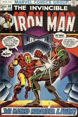 Iron Man #60, the Masked Marauder