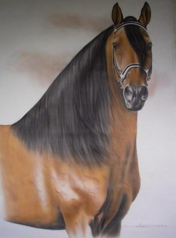 pintura-en-oleo-de-caballos