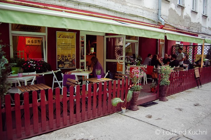 Łódź od Kuchni Restauracja Lavash