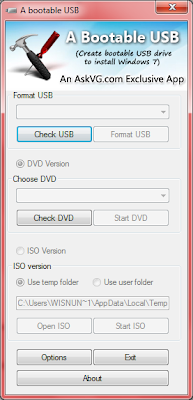 Screenshoot 1 -  A Bootable USBoot For Windows 7 | www.wizyuloverz.com