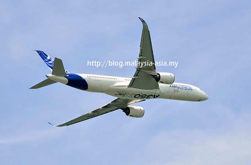 Airbus A350 XWB Wing Wave