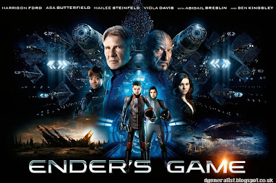 Ender's Game poster - with all the main actors