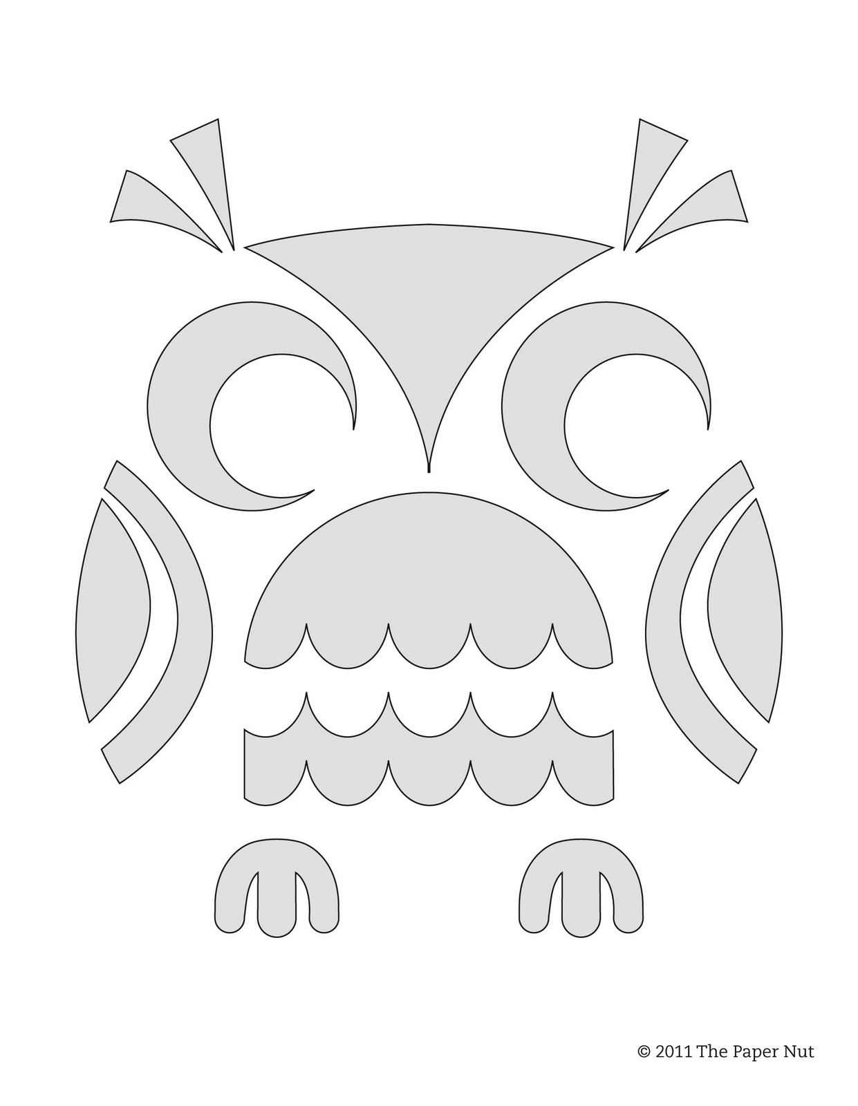 Owl Stencil On Pinterest Skull Stencil Free Printable