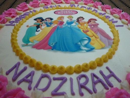 GG Home Biz Cakes & Wedding Cakes: Disney Princess (Edible ...