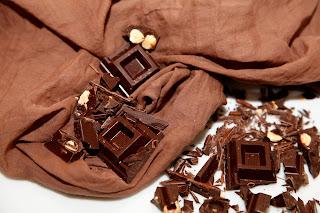 Texaroma sciarpa al cioccolato