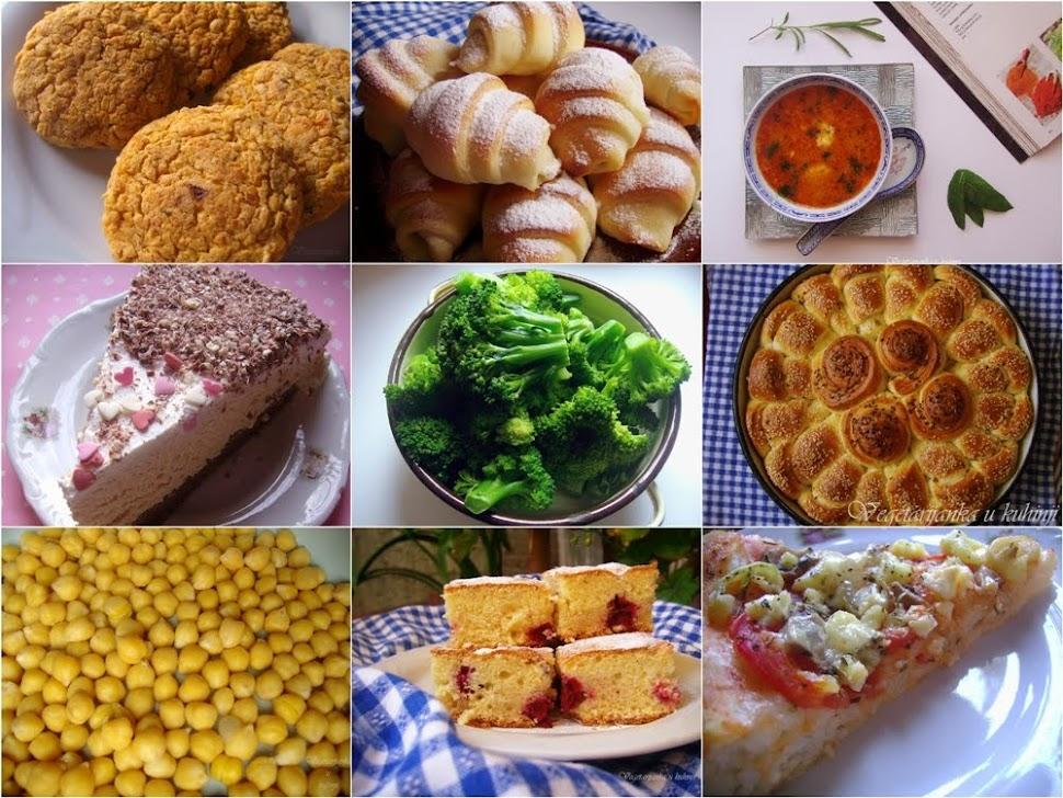 Vegetarijanka u kuhinji