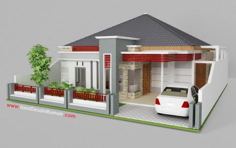 Sketsa Rumah Minimalis on Desain Rumah Sederhana 2408110225