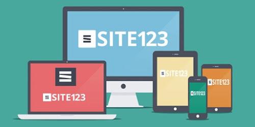 SITE123, a forma mais simples de criar o seu site grátis.