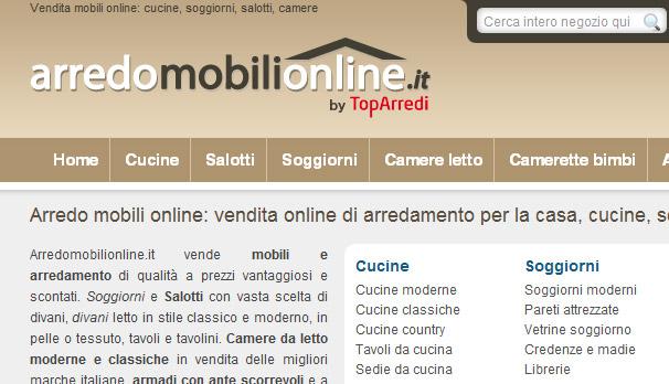 Arredamento e mobili online 2011 for Mobili acquisto on line