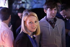 Marissa Mayer - David Karp