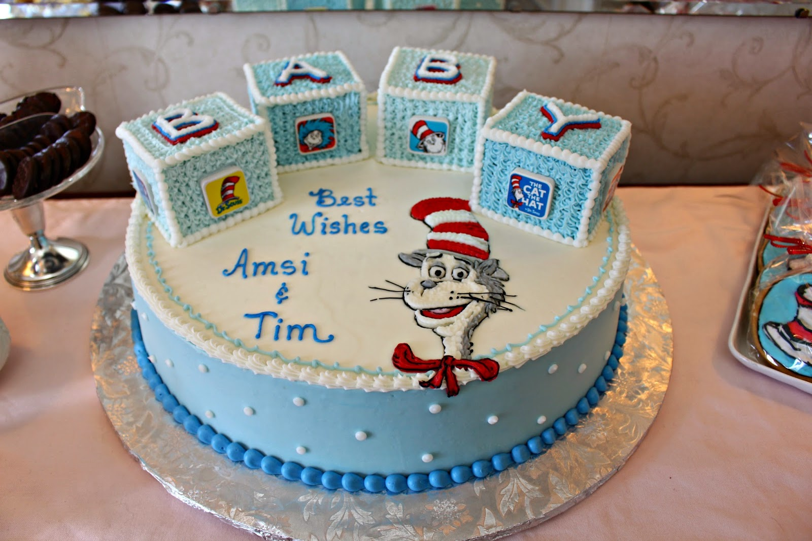 dr seuss baby shower cake mami eggroll a dr seuss shower for baby