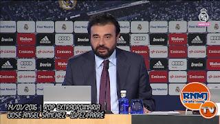 Comparecencia de José Ángel Sánchez y Javier López Farré (14/01/2016)