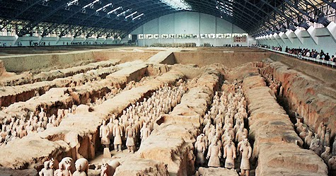 "the mystery of the tomb of shi huangdi essay Exploring ancient mysteries: how the pyramids of giza was built (essay sample)  •the monumental size and complexity of the tomb of shihuangdi is  1clearly state the ""mystery"" and provide a brief summary of at."