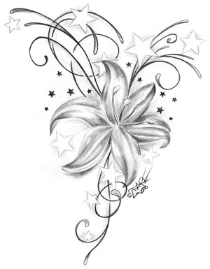 Flower Tattoo Designs on Home Tattoos Chinese Names A Z Tattoo