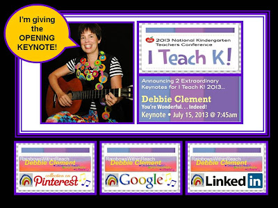 "photo of: Slideshare Slide: Debbie Clement gives the Opening Keynote for ""I Teach K"""