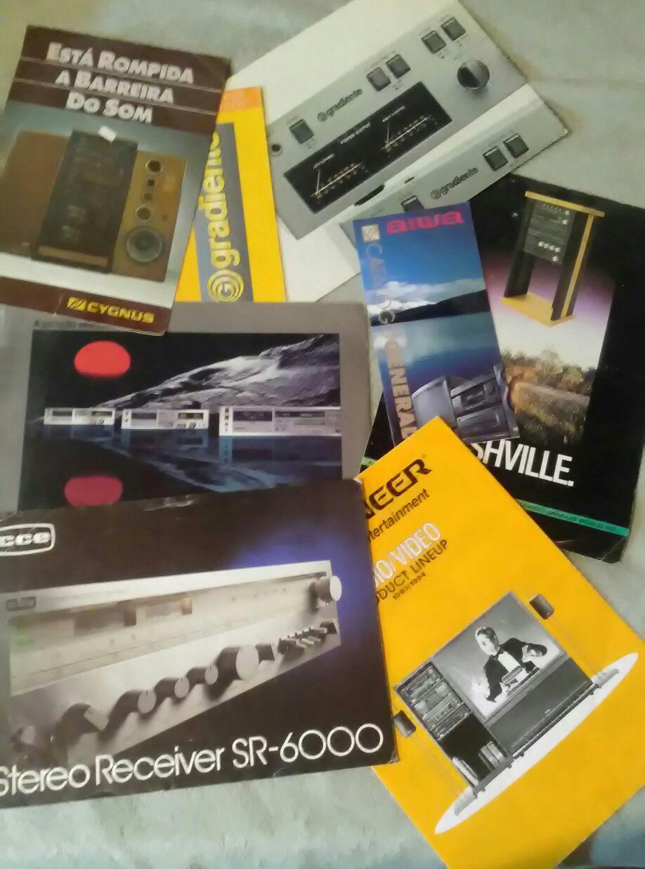 Venda de Catálogos e folders diversos
