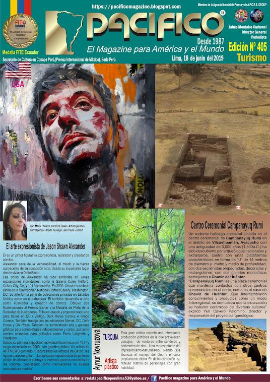 Revista Pacifico N° 405 Turismo