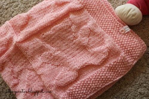 manta em crochet - ursos