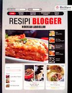 Buku Resepi Blogger