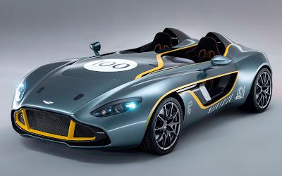 2013 Aston Martin CC100 Speedster concept front three quarters view